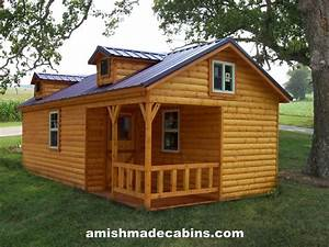 Amish made cabins amish made cabins cabin kits log for Amish portable buildings