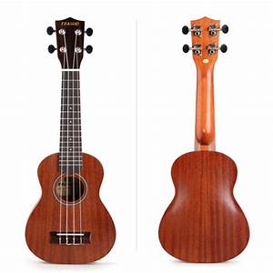 Ukulele Soprano Sapele 21 Ukulele Guitar Hawaiian Ukulele ...