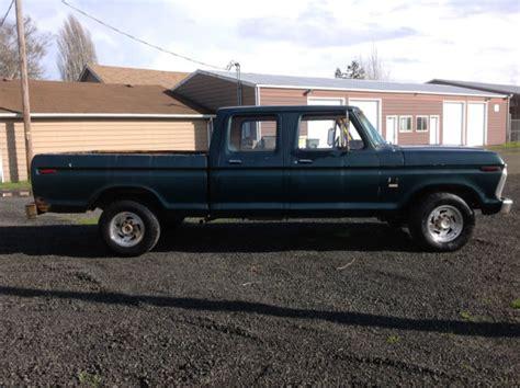 3 door ford truck 1976 ford f250 ranger xlt lariat crew cab highboy factory
