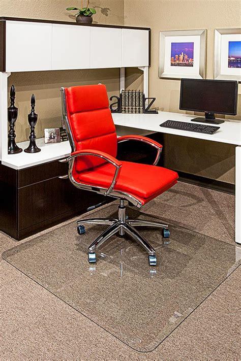 executive chair mat 36 x 46 clear glass chair mats