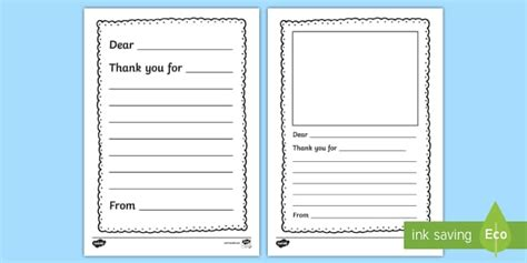 letter writing template   letter writing