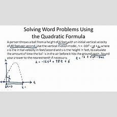 The Quadratic Formula ( Video )  Algebra  Ck12 Foundation