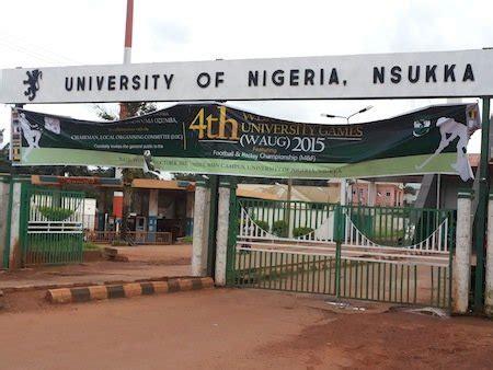 unn university nigeria nsukka sandwich academic calendar