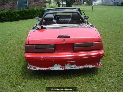 1988 Ford Mustang Gt Convertible 2 Door 5 0l