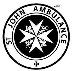 Amazon.com: St John Ambulance - Circle - Black - Window