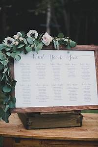 Elegant Seating Charts Wedding Seating Chart For Backyard Wedding By Tuktu Paper Co See