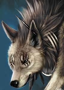 Anime Wolf Vampire Hybrid Girl