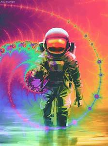 trippy astronaut | Tumblr