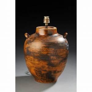 Pied De Lampe Ceramique : pied de lampe en ceramique jacques blin 1950 design market ~ Teatrodelosmanantiales.com Idées de Décoration