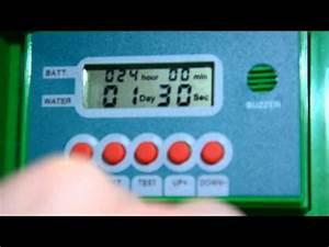 Arrosage Automatique Interieur : r glage arrosage automatique piles youtube ~ Melissatoandfro.com Idées de Décoration