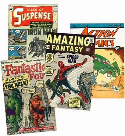 Comic Books Sell Transparent Comics Buyer Cash