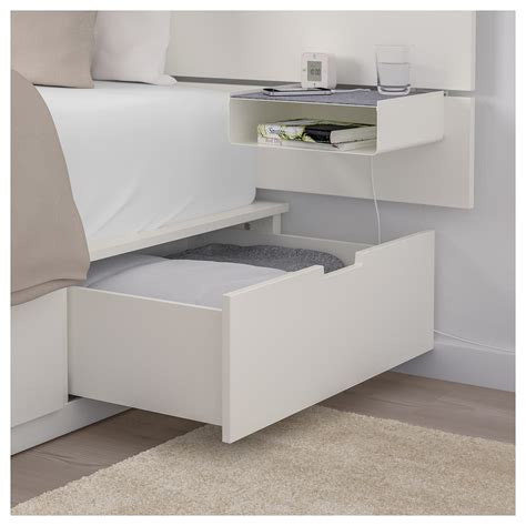 Ikea Nordli Bett by Ikea Nordli Bed With Headboard And Storage White Home