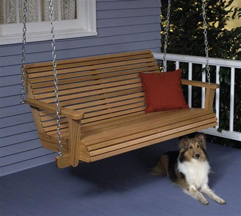 porch swing large format paper woodworking plan