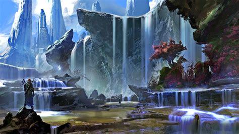 Sci Fi Wallpaper Hd Fantasy Magic Landscape Wallpapers