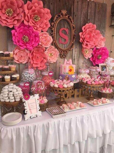 ideas for baby shower elegant pink flower baby shower baby shower ideas themes games