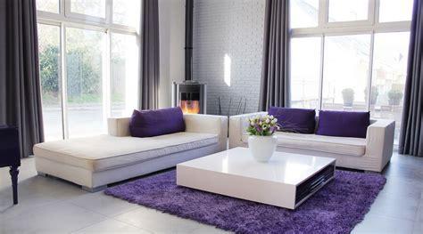10 Chic Purple Living Room Interior Design Ideas