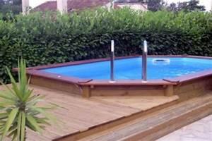 le tas d39idee de piscine semi enterree With piscine en bois semi enterree pas cher