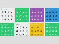 Gratis Iconen voor PowerPoint en Word Een lijst van 12