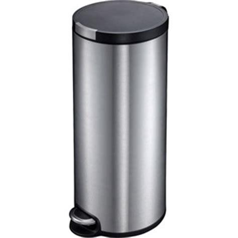 habitat poubelle cuisine ogo poubelle cylindrique 30 litres inox 10105 moins cher laboutiquedunet com