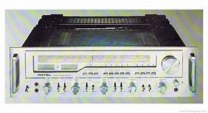 Rotel Rx-1603 - Manual - Am  Fm Stereo Receiver