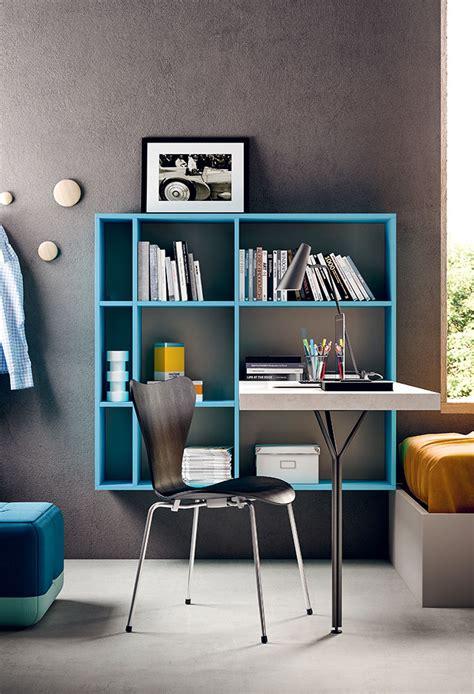 libreria scrivania cameretta con armadio a ponte start p17 clever it