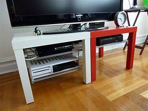 Ikea Table Tv : ikea hack lack tv stand read about my ikea hack on my bl flickr ~ Teatrodelosmanantiales.com Idées de Décoration