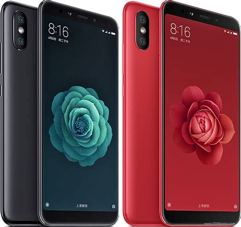 xiaomi mi a2 mi 6x pictures official