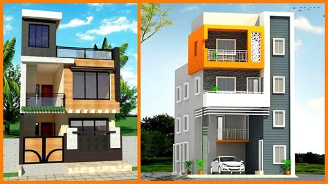 modern small house front elevation design  views