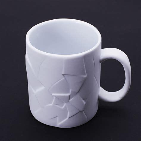 350mL Creative Cracked Up Shattered Mug Coffee Tea Cups Unique Design Funny Mugs Gift Tumbler