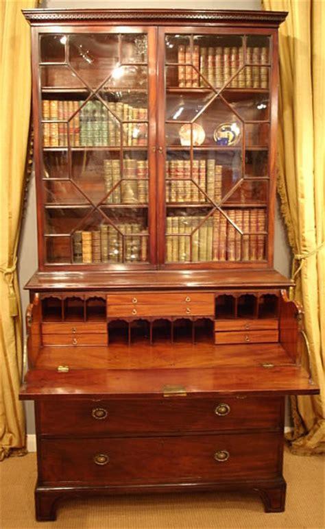 Georgian secretaire bookcase, desk   Bureau and Secretaire