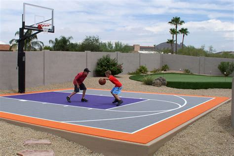 6 Reasons To Install A Backyard Basketball Court Synlawn