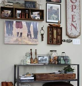 Country kitchen wall decor ideas and