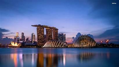 Singapore Wallpapers Marina Bay Sands Desktop 4k