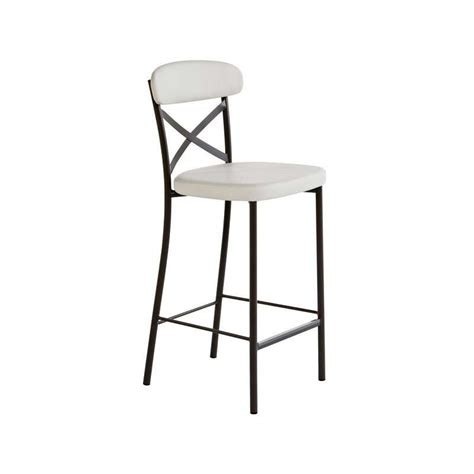 chaise de cuisine hauteur 65 cm tabouret snack de cuisine calia 4 pieds tables
