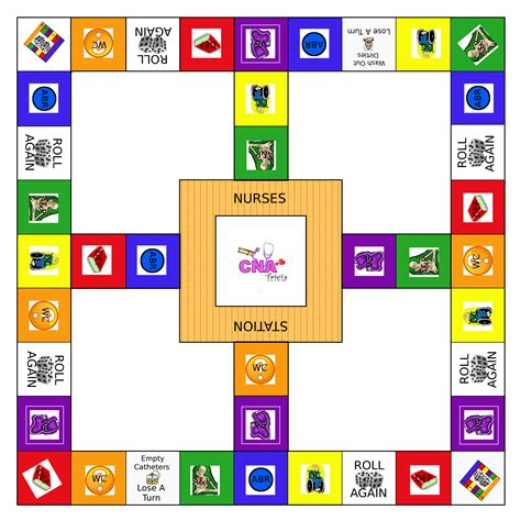trivia game board template cna trivia is an exciting trivia game designed for nurses