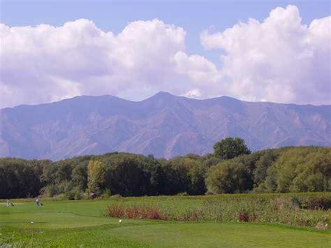 Logan River Golf Course In Logan, Utah, Usa