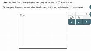 Solved  2   Draw The Molecular Orbital  Mo  Electron Diagr