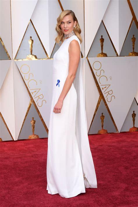 Karlie Kloss Oscars Red Carpet Hollywood Part