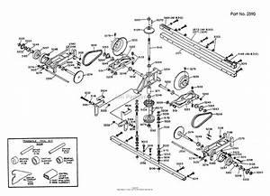 Dixon Ztr 304  1989  Parts Diagram For Transaxle Assembly