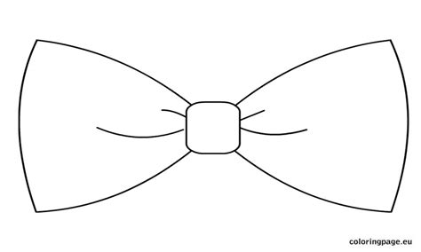 Bow Template Printable Bow Ties Template Coloring Page Sketch Coloring Page