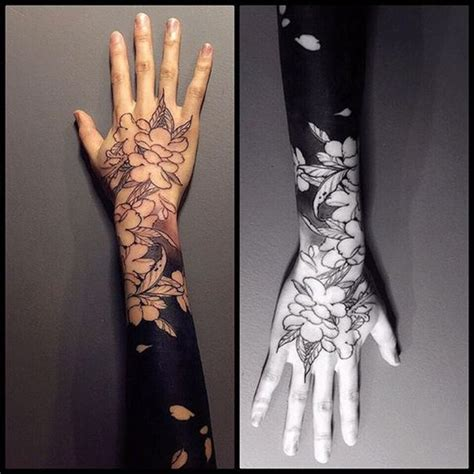 latest blackwork tattoo  arm blackwork tattoo designs