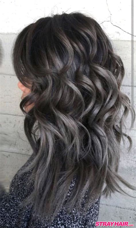 Coloring Hair Grey by Gorgeous Gunmetal Gray Hair Strayhair