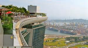 Singapore Hotel With Infinity Pool On Rooftop Image Rooftop Swimming Pool At The Marina Bay Sands Hotel In Singapore