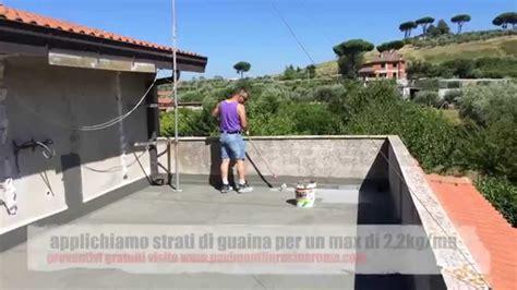 guaina liquida per terrazzi come impermeabilizzare terrazzi e balconi