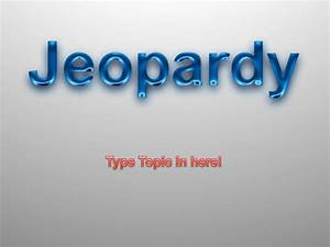 download microsoft jeopardy powerpoint template for free With microsoft powerpoint jeopardy template