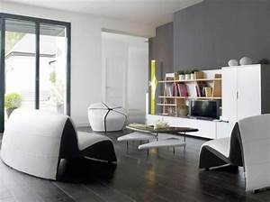 idee deco salon parquet gris With parquet gris salon