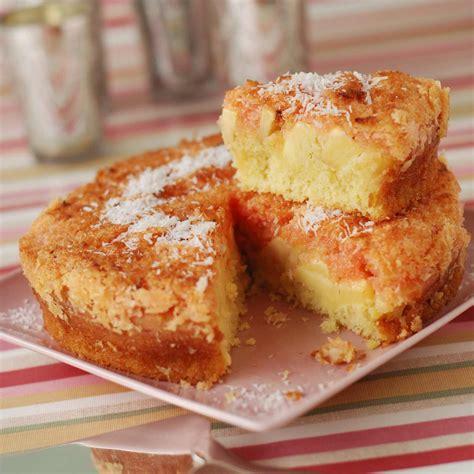 cuisines et vins de recettes gâteau à la pomme et à la noix de coco facile et pas cher