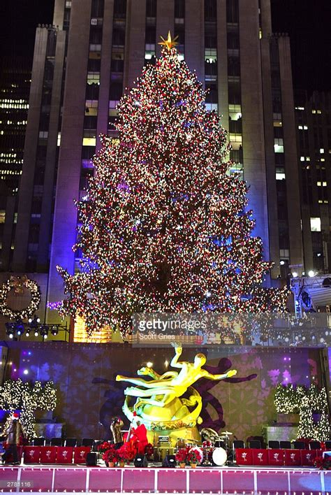 71st annual rockefeller center tree lighting