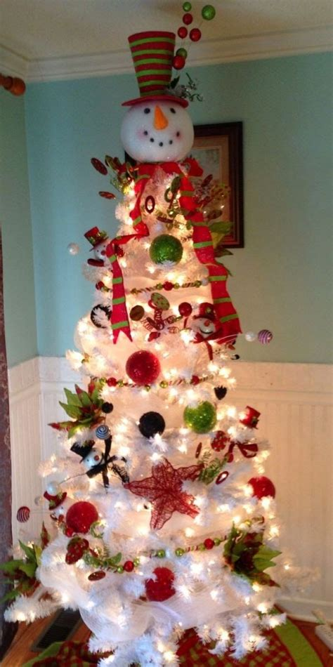 christmas tree decorated with snowmen 25 best ideas about snowman tree on diy