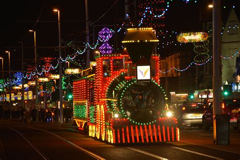 ride the lights the traffic free preview of blackpool illuminations